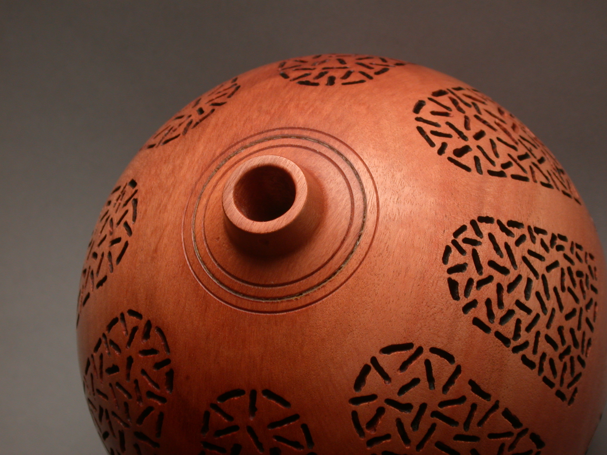 Turned and Pierced Vase